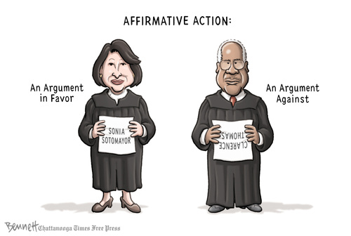 action against affirmative action